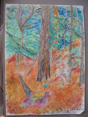 Santa Fe National Forest Faber Castell watercolor pencil series