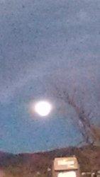full moon rise, 1/12/17