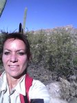 Carol Keiter the blogger back in Tucson, Arizona summer '16