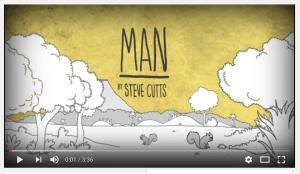 Man, animation by Steve Cutts