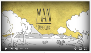 Man, animation by Steve Cutts