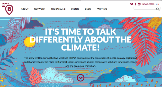 Place to B, Climate, COP21