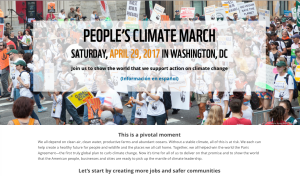 People's Climate March April 29th, 2017 WWF