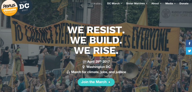 People's Climate March April 29th, 2017