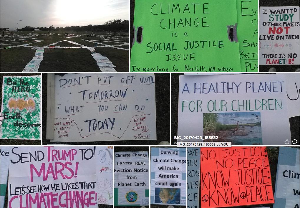 Peoples Climate March Washington D.C.
