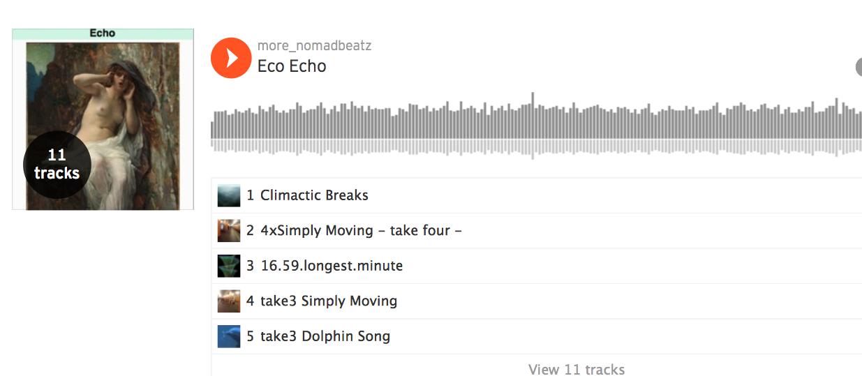 Soundcloud Playlists More_NomadbeatZ Eco Echo