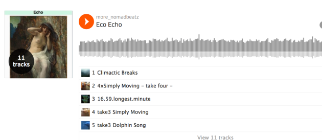 Soundcloud Playlists More_NomadbeatZ Eco Echo