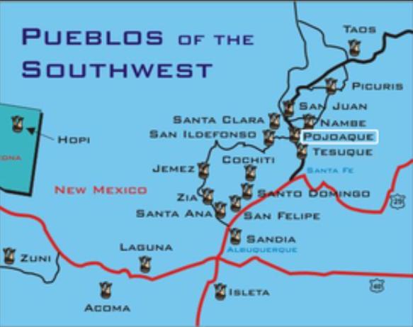 Pueblos of the Southwest