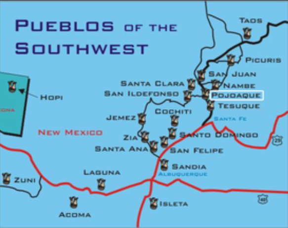 Pueblos of the Southwest