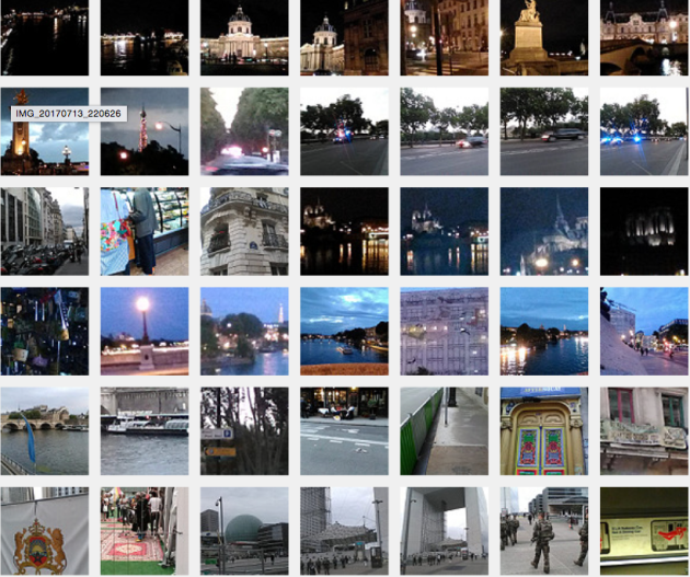 flickr, Paris evening and night pics