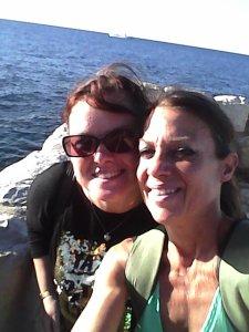 Edwige and Carol Antibes