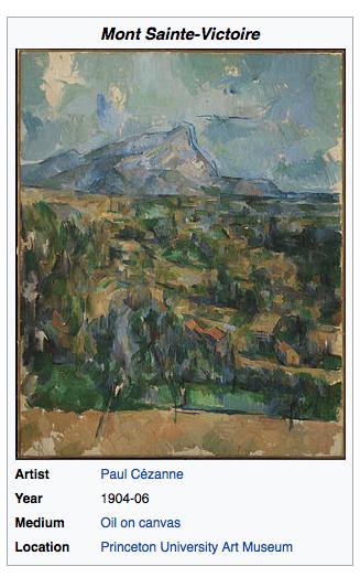 Mont_Saint-Victoire Paul Cézanne