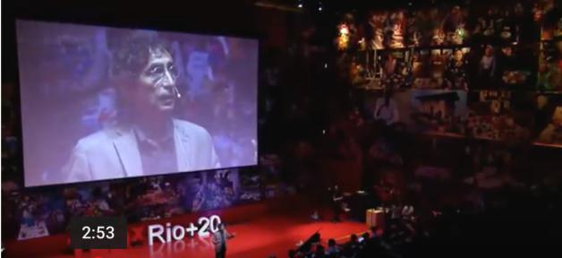 Gabor Maté, speaks, Power of Addiction and Addiction fo Power, TEDx, Rio de Janeiro