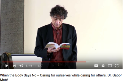 Gabor Maté When the Body Says No