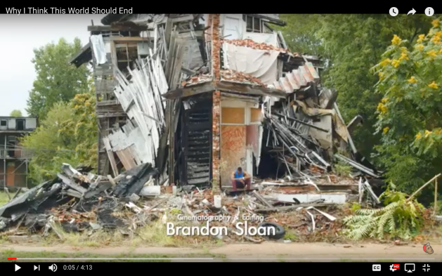 Prince Ea, Brandon Sloan, Cinematography. Why This World Should End