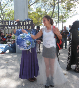 Rising Tide of Awareness, Great Pacific Garbage Patch, NYC Climate March 2014