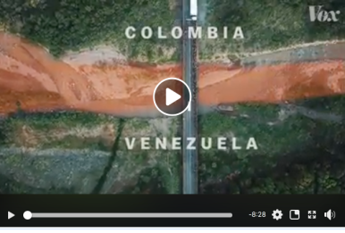 Borders, Vox, Johnny Harris, Colombia, Venezuelans