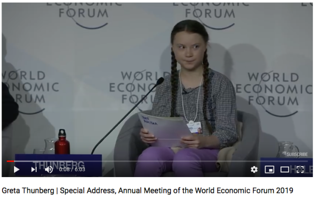 Greta Thunberg | Special Address, Annual Meeting of the World Economic Forum 2019