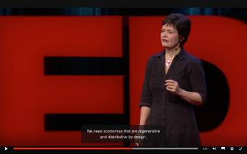 Kate Raworth, TED talk, Economy Designed to Thrive not Grow