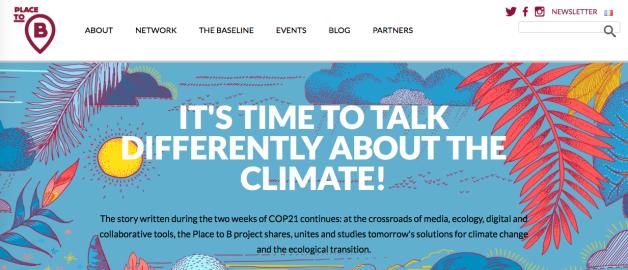 Place to B, climate, COP21 Paris