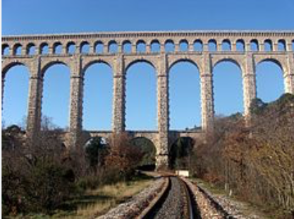 Roquefavour Aqueduct, Ventabren, France, Provence, travel, beauty, craftsmanship
