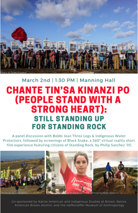 Chante Tin_sa Kinanzi Po, Black Snake, Standing Rock, 360° Video