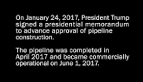 President Trump, Presidential Memorandum, advance approval, pipeline construction