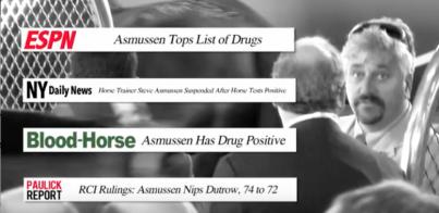 Steve Asmussen, horse drug violations, PETA