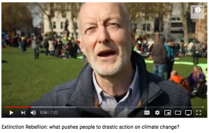Extinction Rebellion professionals talk about what pushed people to act to change