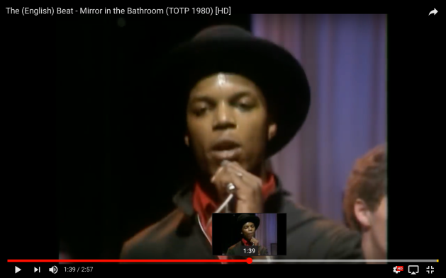 Ranking Roger Mirror in the Bathroom, The English Beat