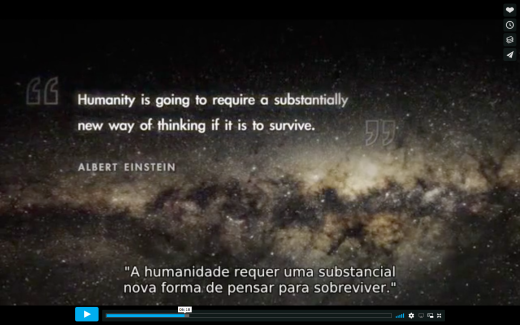 I Am, director Tom Shadyac, Albert Einstein quote