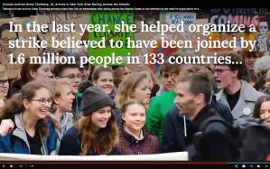 Greta Thunberg arrives to New York city on solar-powered, emission free sail boat across Atlantic