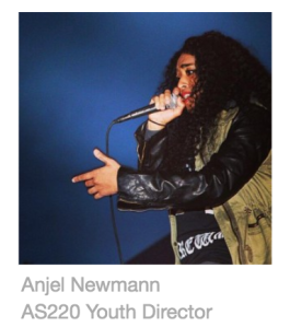 Anjel Newmann, AS220, Youth Director, art, education