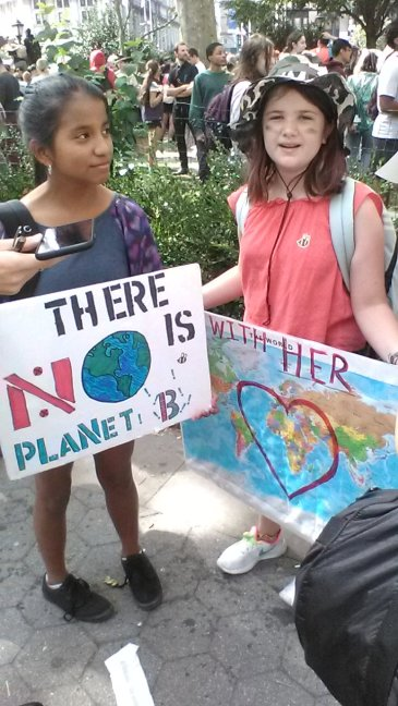 climate strike new york city september 20, 2019