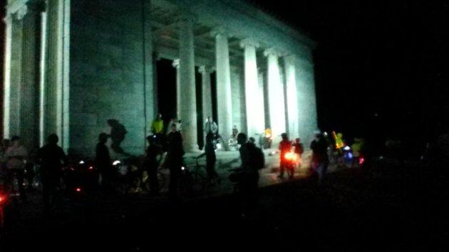 providence bike jam, critical mass group bike ride