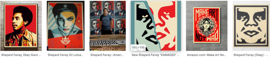 shepard fairey art strips_