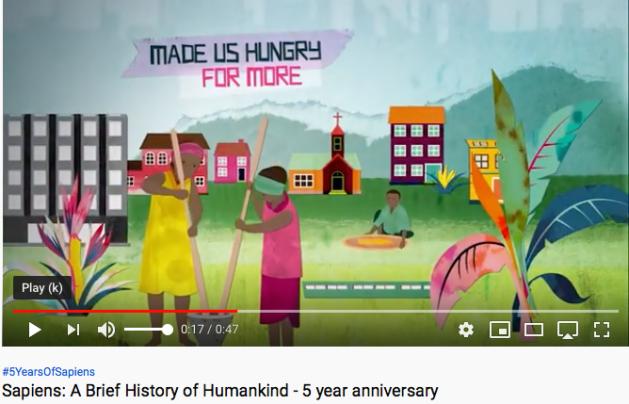 Yuval Harari, Sapiens, History of Humankind