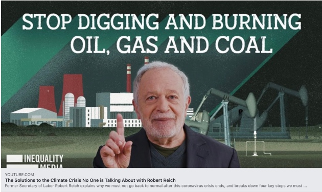 The Solutions to the Climate Crisis No One is Talking About, Robert Reich